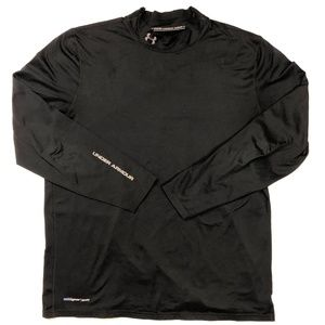 Under Armour Mens Size XXL Black Long Sleeve